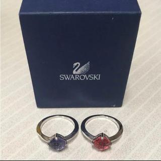 スワロフスキー(SWAROVSKI)のスワロフスキー指輪(リング(指輪))