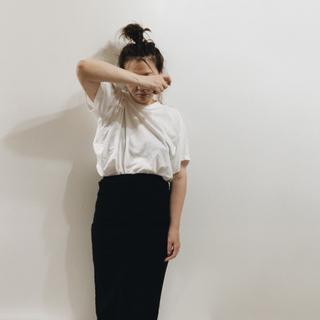 エンフォルド(ENFOLD)のENFOLDデザインtシャツ(Tシャツ(半袖/袖なし))
