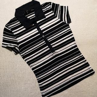 ジェイアンドアール(J&R)の☺️最終値下げ❗J&R☆マルチボーダーMサイズused(Tシャツ(半袖/袖なし))