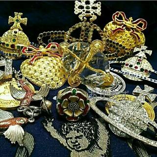 ヴィヴィアンウエストウッド(Vivienne Westwood)の初期のビンテージアイテム グラスカットオーブリング ヴィヴィアン(リング(指輪))