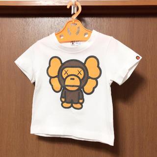 アベイシングエイプ(A BATHING APE)のBAPE×KAWS size 100cm(Tシャツ/カットソー)