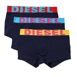 ディーゼル(DIESEL)のDIESEL メンズ ボクサーパンツ Sサイズ 3枚セット(ボクサーパンツ)