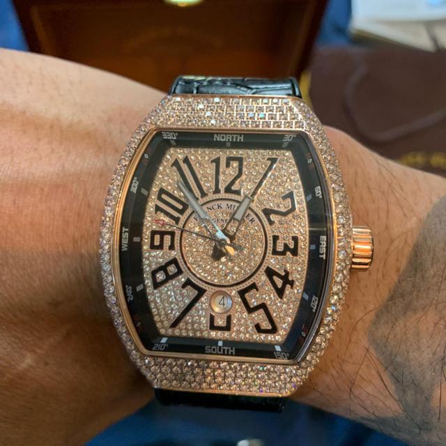 FRANCK MULLER - フランクミュラー時計 ダイヤの通販 by みっきー's shop|フランクミュラーならラクマ