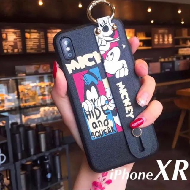 グッチ アイフォーンxs ケース 海外 、 【新品】ディズニー ミッキー ハンドベルト付き iPhone XRケースの通販 by kaz@iPhone |ラクマ