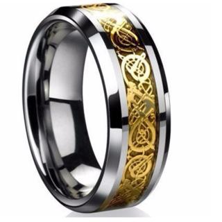 ドラゴンリング (ゴールド)(リング(指輪))