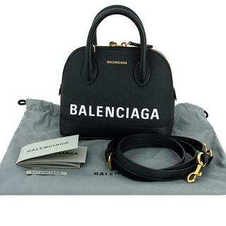 2a8e1754909d バレンシアガ(Balenciaga)のバレンシアガ ヴィル トップハンドルXXS ハンドバッグ ブラック(ショルダーバッグ)