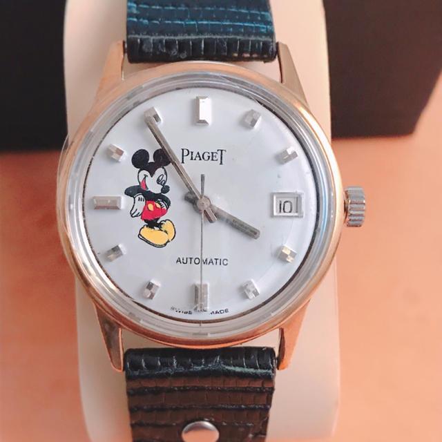 PIAGET - ピアジェ  アンティーク オートマチック 腕時計 Mickeyの通販 by JJ|ピアジェならラクマ
