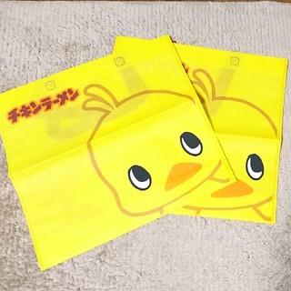 ニッシンショクヒン(日清食品)の日清チキンラーメン ひよこちゃん トートバッグ(キャラクターグッズ)