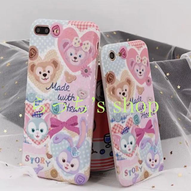 【新作】ダッフィー フレンズハートウォーミング柄 iPhoneケーススマホケースの通販 by らっち's shop|ラクマ