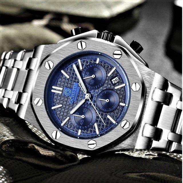★新品★ クロノグラフ腕時計 海外モデル 0455の通販 by まちのとけいやさん shop|ラクマ