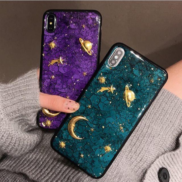 グッチ アイフォーンx ケース 財布 、 XR入荷! 大人かわいい iPhoneケース カバー 宇宙柄 ディープカラーの通販 by すわりん's shop|ラクマ