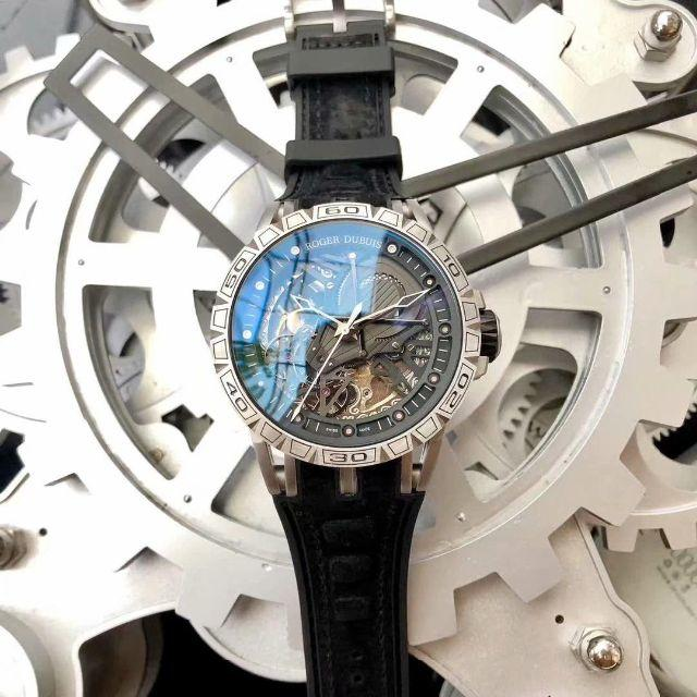 バーバリー 時計 並行輸入 偽物 574 | ROGER DUBUIS - 専用箱付き ROGER DUBUIS   ロジェデュブイ 自動巻き 腕時計の通販 by 府富士時's shop|ロジェデュブイならラクマ