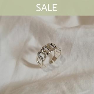 マウジー(moussy)の【 数量限定SALE 】silver 925 chain ring 1 *(リング(指輪))