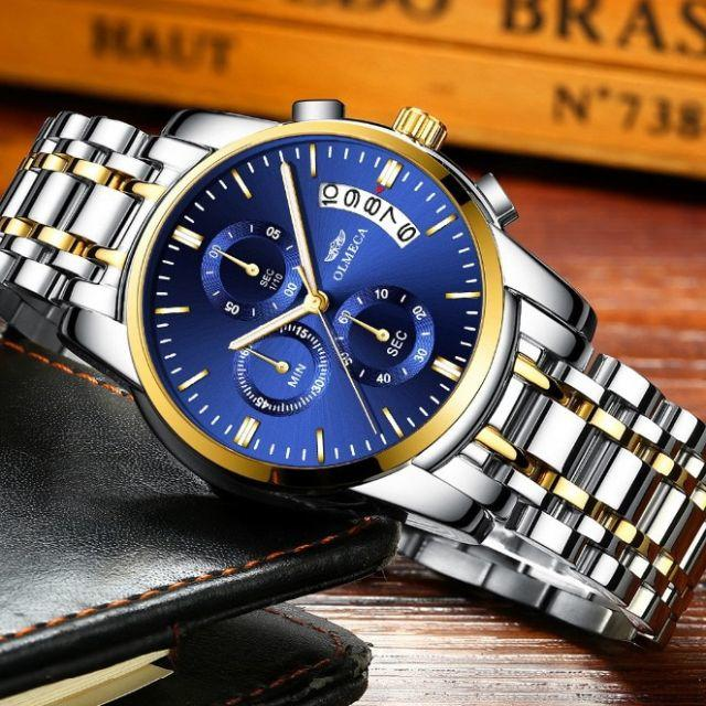 オメガ 時計 コピー 入手方法 - ◆新品◆ 高性能クロノグラフ搭載 クォーツ腕時計 0403の通販 by まちのとけいやさん shop|ラクマ