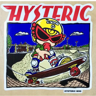 ヒステリックミニ(HYSTERIC MINI)のヒスミニ☆レア☆正規品☆新品♪ステッカー♪スケボー☆シール(しおり/ステッカー)
