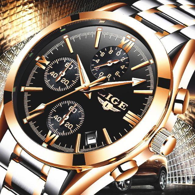 ◆新品◆ 高性能クロノグラフ搭載 クォーツ腕時計 0414の通販 by まちのとけいやさん shop|ラクマ