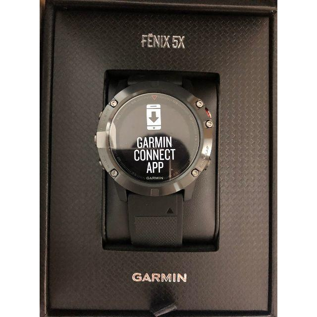 GARMIN - GARMIN ガーミン fenix5X Sapphireの通販 by さたん's shop|ガーミンならラクマ