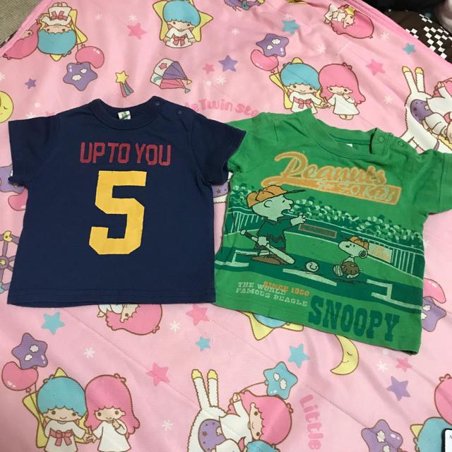 MARKEY'S(マーキーズ)のmarkey's hogan JUNK STORE  tシャツ  80  キッズ/ベビー/マタニティのベビー服(~85cm)(Tシャツ)の商品写真