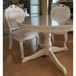 イケア(IKEA)のダイニングテーブルセット(ダイニングテーブル)