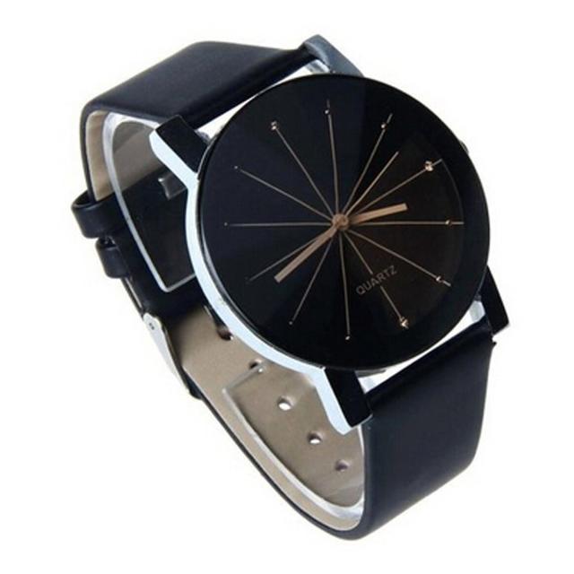 送料無料!メンズ レザーバンド ファション 腕時計の通販 by れな's shop|ラクマ