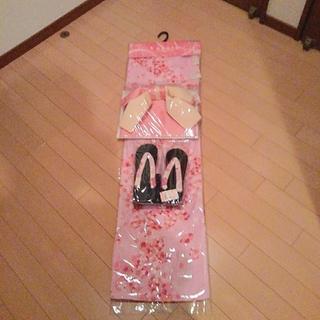 しまむら - 浴衣3点セット     新品