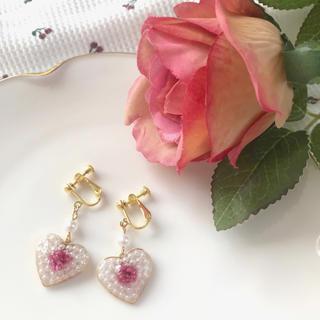 ワンアフターアナザーナイスクラップ(one after another NICE CLAUP)の- gypsophila pearl earring -(イヤリング)