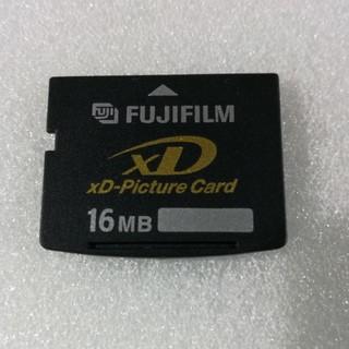 フジフイルム(富士フイルム)のXD Picture Card 【16MB】FUJIFILM(その他)