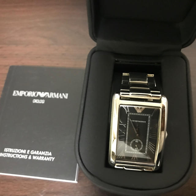 カルティエ偽物大集合 / Emporio Armani - 本物保証!美品!エンポリオ アルマーニ メンズ腕時計!の通販 by aimer's shop|エンポリオアルマーニならラクマ
