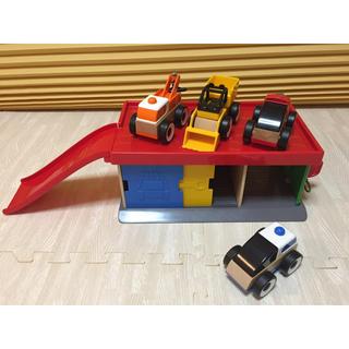 イケア(IKEA)の【IKEA Original】お子様用おもちゃ ガレージ&車(電車のおもちゃ/車)