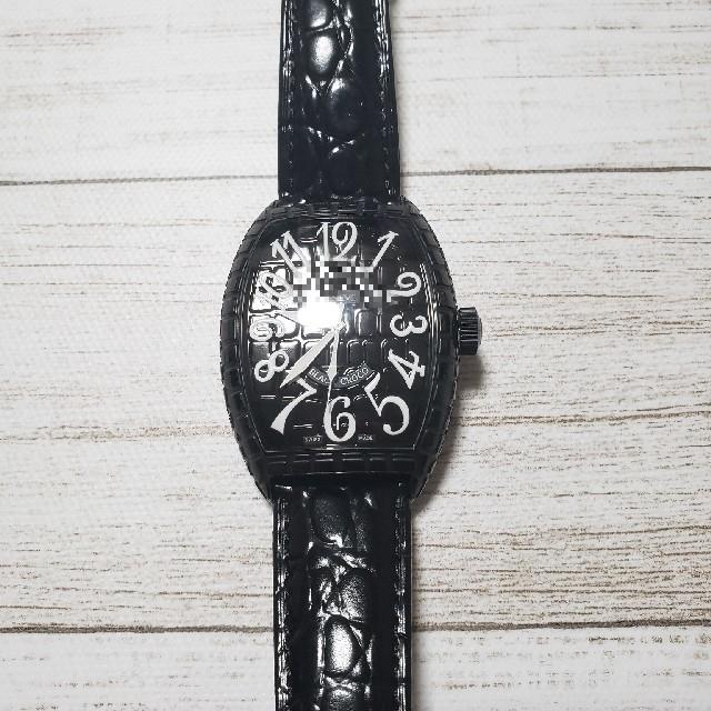 FRANCK MULLER - ブラッククロコ 腕時計の通販 by けん's shop|フランクミュラーならラクマ