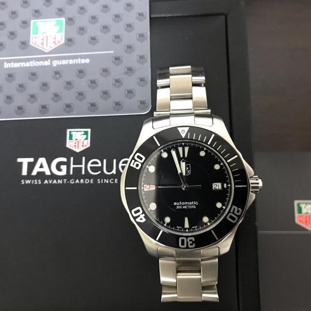 ビビアン 時計 激安ブランド - TAG Heuer - TAGHEUER タグホイヤー アクアレーサー WAB2010自動巻き デイトの通販 by aimer's shop|タグホイヤーならラクマ