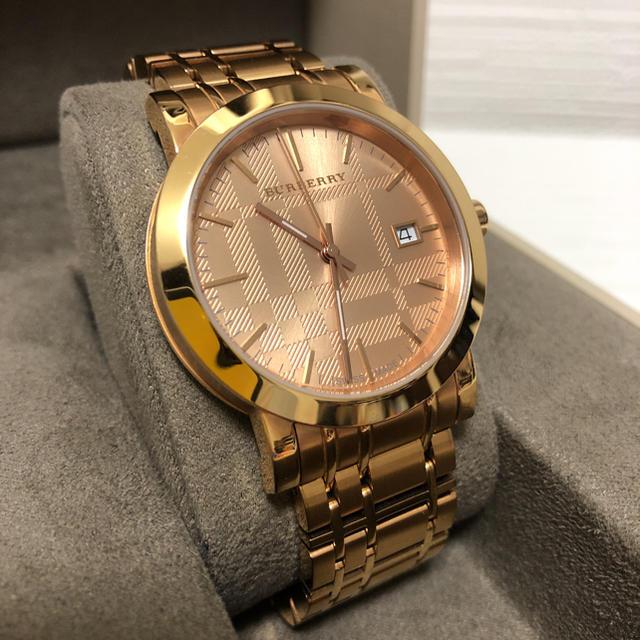 オロビアンコ 時計 ベルト | BURBERRY - 【美品・稼働品】BURBERRYバーバリー 腕時計 ローズゴールド文字盤の通販 by メグ's shop|バーバリーならラクマ