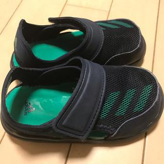 アディダス(adidas)のアディダス キッズ サンダル FORTASWIM 15cm(サンダル)