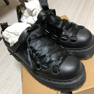 ドクターマーチン(Dr.Martens)のドクターマーチン CARAYA 厚底 uk6(ローファー/革靴)