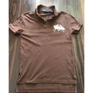 ポロラルフローレン(POLO RALPH LAUREN)のポロラルフローレン POLO ラルフ ギャロップポニー  スエード ポロシャツ(ポロシャツ)