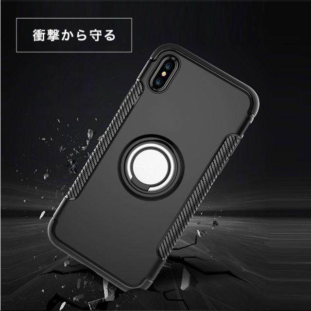 ★iPhone ケース iPhoneケース リング付き 落下防止 XRの通販 by ジョウ's shop|ラクマ