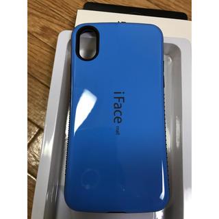 9ddec29d5c iFace mall iPhoneXハードケース ブルー(iPhoneケース)