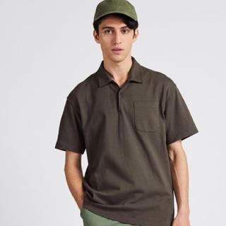 エンジニアードガーメンツ(Engineered Garments)のユニクロ エンジニアド ガーメンツ ポロシャツ Tシャツ カーキ L(Tシャツ/カットソー(半袖/袖なし))