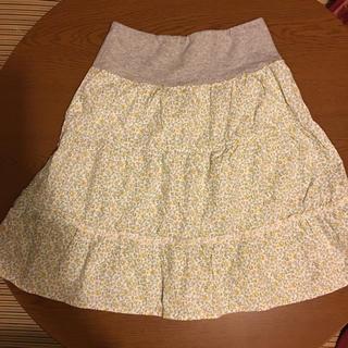 ベルメゾン(ベルメゾン)のウエストゴム スカート  Mサイズ(ひざ丈スカート)