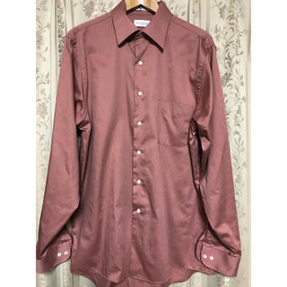 ジョンローレンスサリバン(JOHN LAWRENCE SULLIVAN)の古着屋購入 ヴィンテージ  サテンシャツ ブラウン(シャツ)