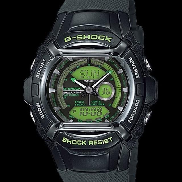 オメガトライブffrk - G-SHOCK - G-SHOCK カラーダイアル ブラック&グリーンの通販 by トリー's shop|ジーショックならラクマ
