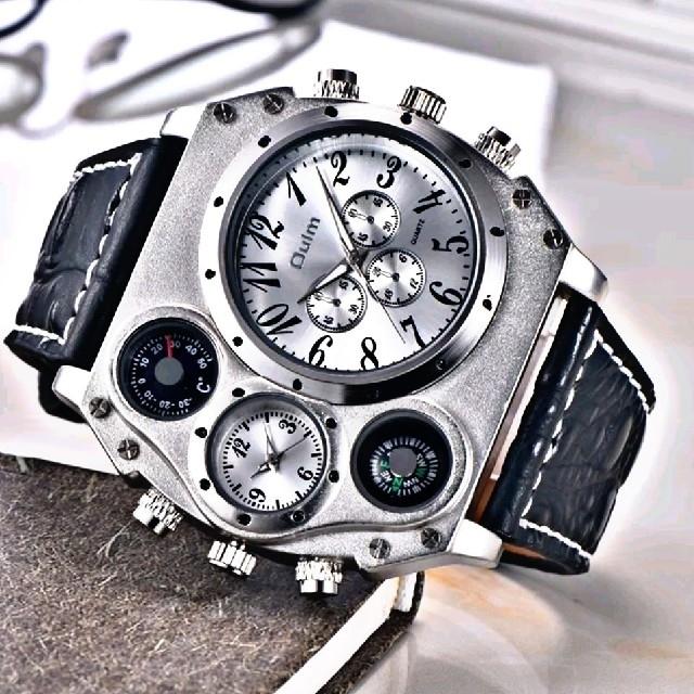 DualWorld  【Qalm3970】 腕時計 ウォッチ クラシックの通販 by レオさくら's shop|ラクマ