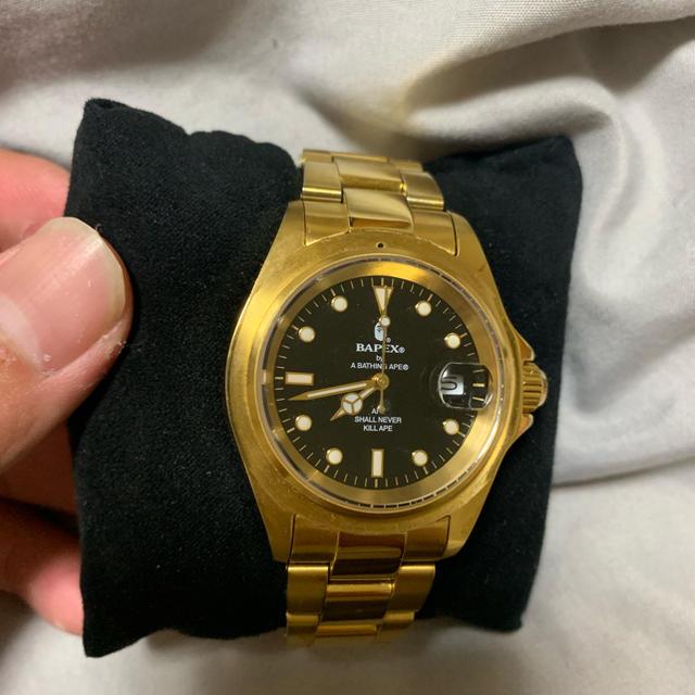 A BATHING APE - bape 腕時計の通販 by びっくりボーイ|アベイシングエイプならラクマ