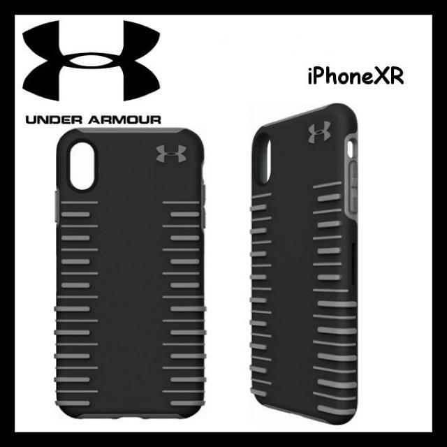 UNDER ARMOUR - 日本未入荷 ★アンダーアーマー iPhoneXR ケース ブラックの通販 by D.C.T's shop|アンダーアーマーならラクマ