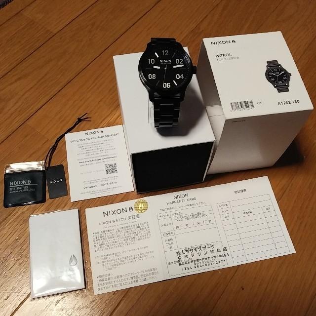 NIXON - ニクソン NIXON 時計 腕時計 ムラサキスポーツ 購入の通販 by Penguin's shop|ニクソンならラクマ