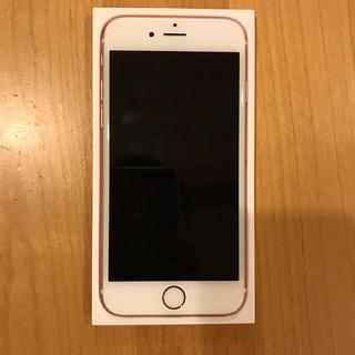 アップル(Apple)のiphone 6s 本体 ローズゴールド16GB au 中古(スマートフォン本体)