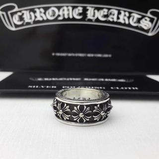 クロムハーツ(Chrome Hearts)のクロムハーツ スピナー CHクロスリング(リング(指輪))