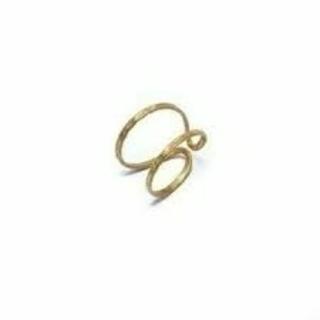 ☆新品24KAngleDiamondDotアングダイアETERNITY RING(リング(指輪))
