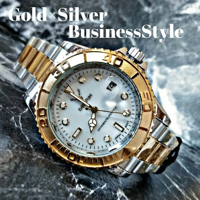 クロノスイス 時計 スーパー コピー 名古屋 、 海外限定【Derrfun3230】GoldSilver モデル 腕時計 の通販 by さとこショップ|ラクマ