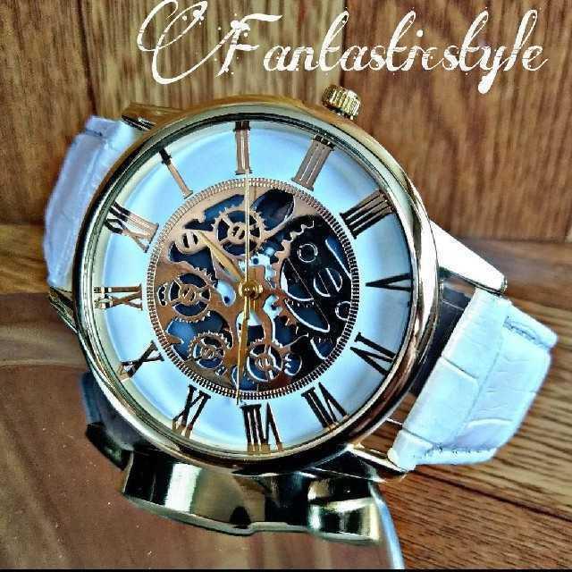 ヌベオ偽物送料無料 / 【海外限定ウォッチ】Martinマーティン メンズ 腕時計?ホワイト ゴールドの通販 by レビサウンド's shop|ラクマ